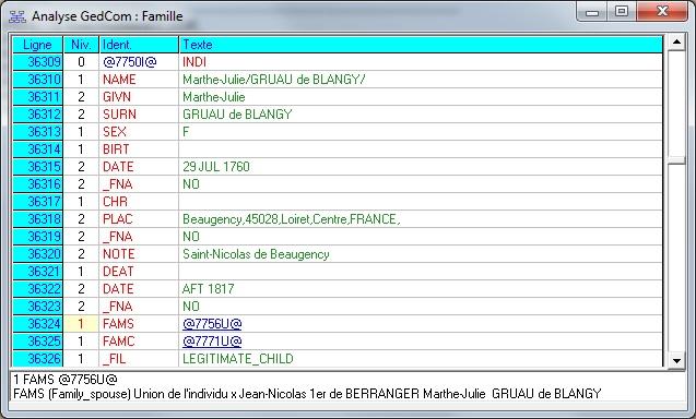 logiciel gedcom
